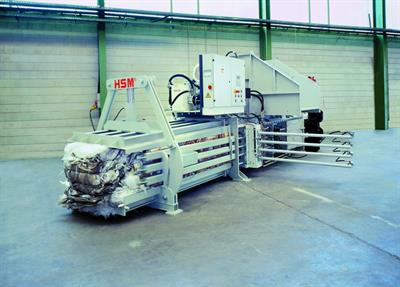 HSM - Model VK 4812 - 30 kW Compacting Channel Baling Presses