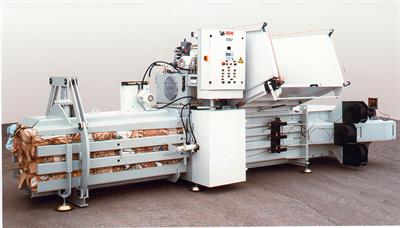 HSM - Model VK 4012 - 22 kW Compacting Channel Baling Presses