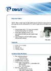 Drip Tape Valves Brochure