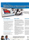 Making Sense of Environment Data with Hydro GeoAnalyst (HGA) Course Brochure