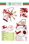 Model OT - 09 - Rotary Windrower Brochure