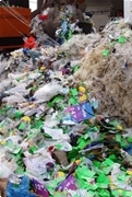 Waste shredding for the waste RDF line