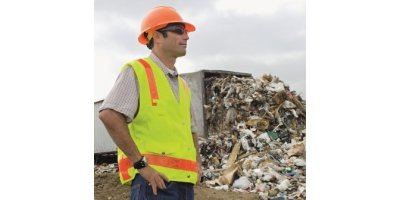 Waste shredding for the landfill industry