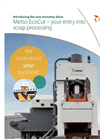 Metso EcoCut - Scrap Shears Brochure