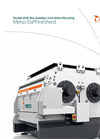Metso EtaFineShred - 4500/6500 - Double Shaft Waste Fine-Shredder Brochure