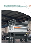 Metso EtaPreShred - 2000S - Waste Pre-Shredder Stationary Datasheet