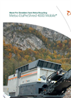 Metso EtaPreShred - 4000 - Waste Pre-Shredder Mobile Datasheet