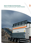 Metso EtaPreShred - 6000 - Waste Pre-Shredder Mobile Datasheet