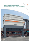 Metso EtaPreShred - 6000 - Waste Pre-Shredder Stationary Datasheet