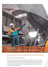 Metso Shredder Dust Supression Flyer Brochure