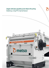 Metso EtaFineShred - Model 3500 - Single Shaft Fine Shredders - Brochure