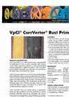 VpCI CorrVerter - Water-Based Rust Converter Datasheet