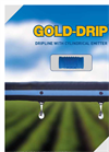 Gold-Drip - Long-Life Dripper Line - Leaflet