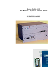 Model 1150 - Staticon Monitoring & Control System - Manual
