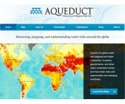 New mapping tool provides unprecedented ability to assess water risk