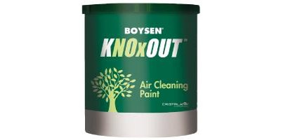 Boysen KNOxOUT - Model B8702 - Exterior Silicone Air Cleaning Paint
