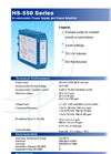 Model HS-429 - Vibration Switch Brochure