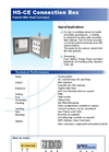 Model HS-CE Series - Painted Steel Multi-Sensor Connection Box  Brochure