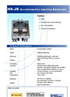 Model HS-JE Series - Accelerometer Junction Enclosure Brochure