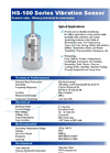 Model HS-100 Series - Braided Cable Industrial Accelerometer - Brochure