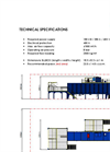 Blubox - Lamp and Flat Panel Display Recycling Plant Technical Specifications - Brochure