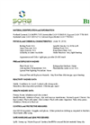 BioSet - Blood and Biohazardous Spill Powder MSDS
