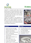 SorbaSolv - Cellulose Based Oil Absorbent - Datasheet