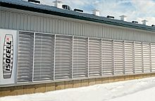 SECCO - Model Isocell X-wall - Natural Ventilation System