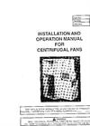 Model 789842 - Centrifugal Fans Brochure