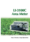 LI-COR - Model LI-3100C - Area Meter - Brochure