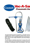 Gamet Vac-A-Sample Brochure