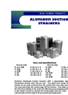 Aluminum Suction Strainers - Brochure