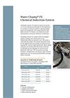Water Champ FX Chemical Induction System Brochure