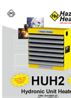 Hazloc - Model HUH2 - Hydronic Unit Heater - Brochure