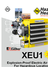 Hazloc - Model XEU1 Series - Explosion-proof Electric Unit Heater - Brochure