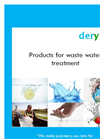 Waste Water Treatment Products- Brochure