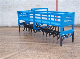 Humac - Land Aerator with Weight Frame
