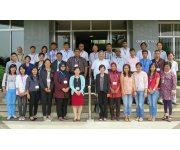 Breeders and soil scientists join training fellowship on sustainable rice production systems in the midst of climate change