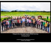 PRISM holds review training on on-site crop health assessment and information gathering