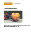 Damcon - Three-Points Mounted Weed Sprayers Brochure
