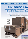 Ultra - RJ-100 SC - Self-Contained Compactor and Container Datasheet