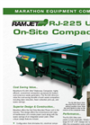 Ultra - RJ-225 - On-Site Compactor Datasheet