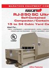 Ultra - RJ-250SC - Self-Contained Compactor (15 to 34 Cubic Yard Capacity)