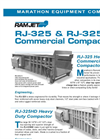 RamJet - A-RJ325 - AA-325 - Heavy Commercial Compactor Datasheet