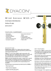 WSD-1 - Wind Speed and Direction Sensor (Modbus) Data Sheet