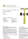 WSD-2 - Wind Speed and Direction (SDI-12) Sensor Data Sheet