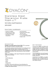 TSSP-1 - Stainless Steel Thermistor Probe Data Sheet