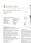 Dyacon - Model MS-150 - Meteorological Station Data Sheet