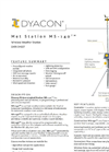 Dyacon - Model MS-140 - Solar Powered Weather Station Data Sheet