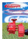 Cadoppi - Series CA - Centrifugal Trailer Mounted Pumps Brochure